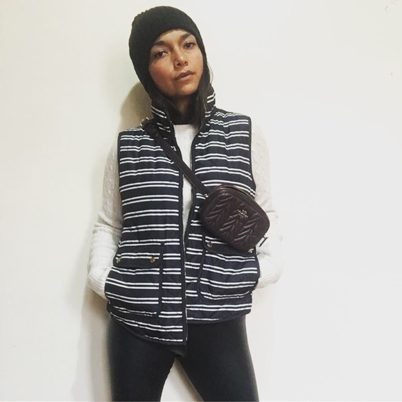 Kenar Jackets & Blazers - New without tags striped puffer Vest
